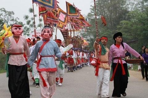 Người dân là chủ thể của lễ hội, là người sáng tạo ra các giá trị văn hóa độc đáo của dân tộc.