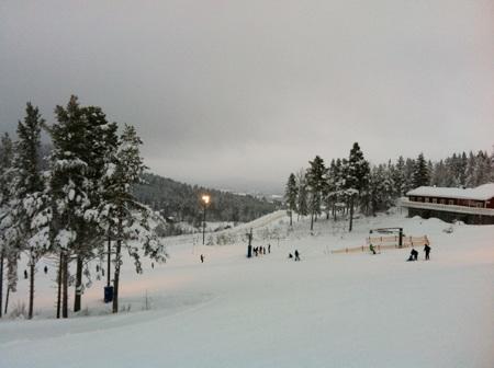 Một phần khu trượt tuyết Jarvsobacken