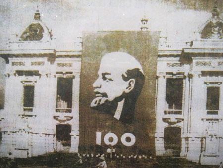 Kỷ niệm 100 năm ngày sinh Lê-nin