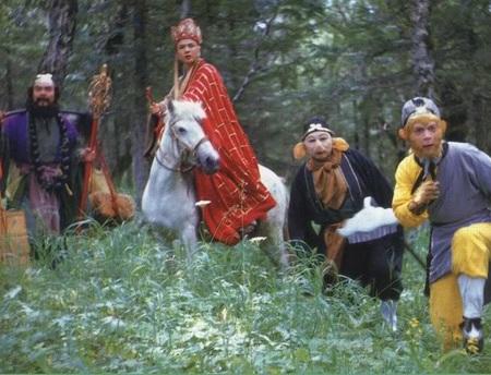 Bốn diễn viên chính phim Tây Du Ký