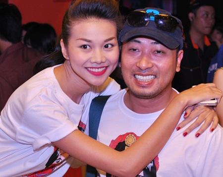 Thanh Hằng liên tục có mặt trong những phim điện ảnh của Nguyễn Quang Dũng