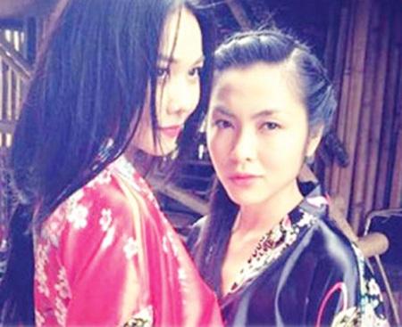 Thanh Hằng vào vai tình yêu đồng giới lặng thầm với Linh Lan (Tăng Thanh Hà)