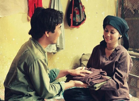 Minh Hằng trong phim Người Hà Nội sản xuất năm 1996