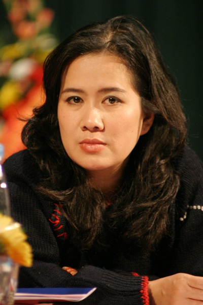 Nhà văn Nguyễn Thị Thu Huệ- Giám đốc trung tâm Quyền Tác giả Văn học Việt Nam