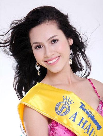 Hoàng My đoạt Á hậu 1 tại cuộc thi Hoa hậu Việt Nam 2010