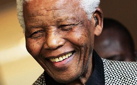 Chân dung cựu tổng thống Nam Phi Nelson Mandela