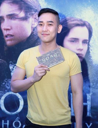 Đến tham dự buổi ra mắt phim tại TPHCM còn có diễn viên Hứa Vĩ Văn