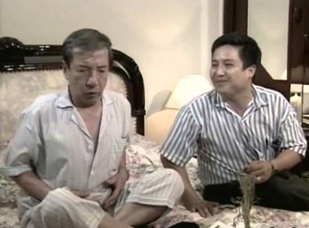 NSND Trịnh Thịnh trong một cảnh phim