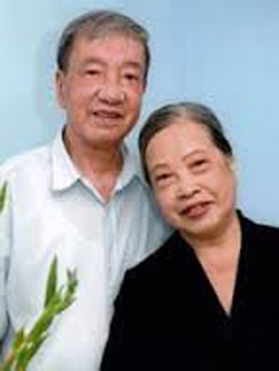 Vợ chồng NSND Trịnh Thịnh