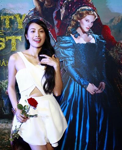 Đến dự buổi ra mắt phim còn có sự tham gia của Trương Nhi