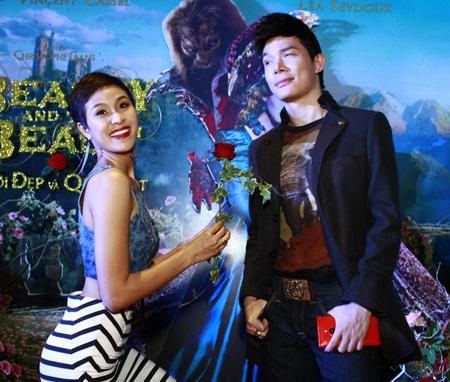 Phương Mai và Nathan Lee