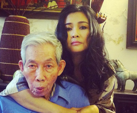 Nhạc sỹ Thuận Yến những năm cuối đời và con gái Thanh Lam