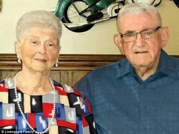 Cụ ông Don và cụ bà Margaret đã có 59 năm sống hạnh phúc bên nhau trước khi qua đời trong cùng một ngày