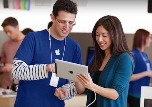 Nhân viên bảo hành tại Apple Store đã lấy hình ảnh trên thiết bị của khách hàng nữ mà họ không hay biết