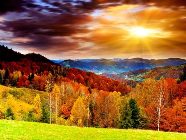 Mang sắc màu mùa thu lên màn hình máy tính với bộ hình nền tuyệt đẹp - 1