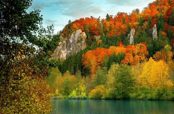 Mang sắc màu mùa thu lên màn hình máy tính với bộ hình nền tuyệt đẹp - 22