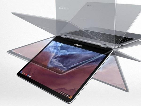Sản phẩm cho phép lật ngược màn hình để sử dụng như một chiếc máy tính bảng