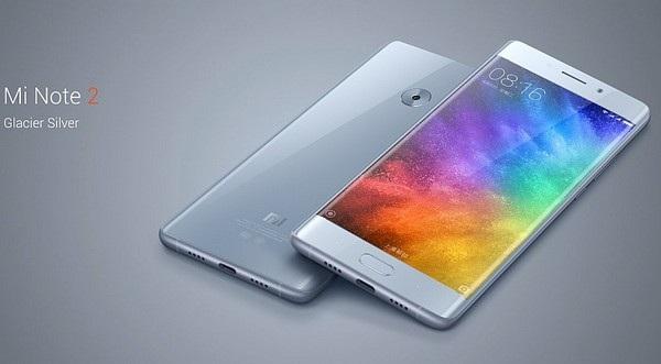 Xiaomi Mi Note 2 sở hữu thiết kế bên ngoài với nhiều nét tương đồng Galaxy Note7 của Samsung