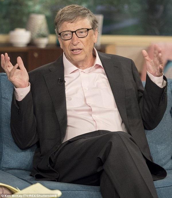Bill Gates đã có những chia sẻ về đời tư với chương trình truyền hình This Morning của Anh