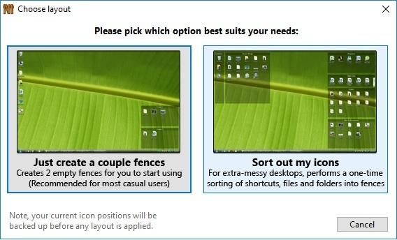 Phần mềm miễn phí dọn màn hình desktop gọn gàng, ngăn nắp - 4