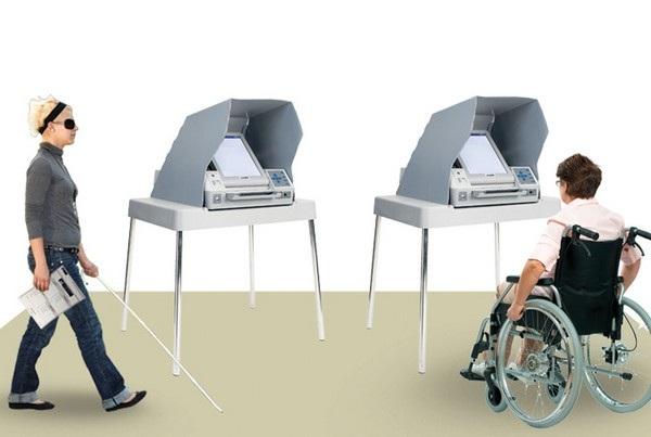 Hệ thống và thiết bị đánh dấu lá phiếu nhằm giúp đỡ người khuyết tật có thể bỏ phiếu cho lựa chọn của mình