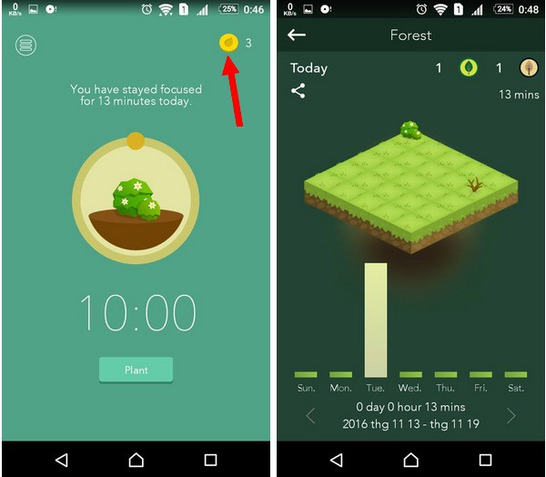 Ứng dụng giúp tránh phân tâm bởi smartphone trong khi làm việc - 5