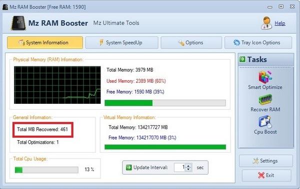 Tối ưu bộ nhớ RAM và vi xử lý để máy tính mượt mà hơn - 1