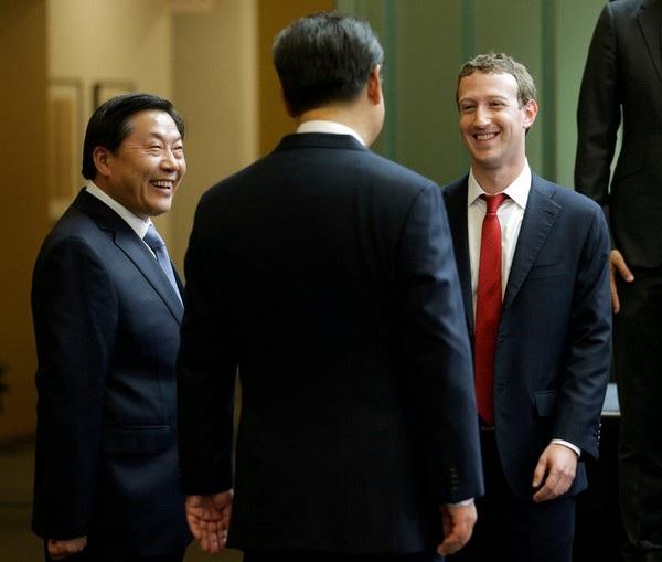 CEO Mark Zuckerberg của Facebook đã nhiều lần ghé thăm Trung Quốc và gặp gỡ các lãnh đạo của quốc gia này, bao gồm cả Chủ tịch Trung Quốc Tập Cận Bình