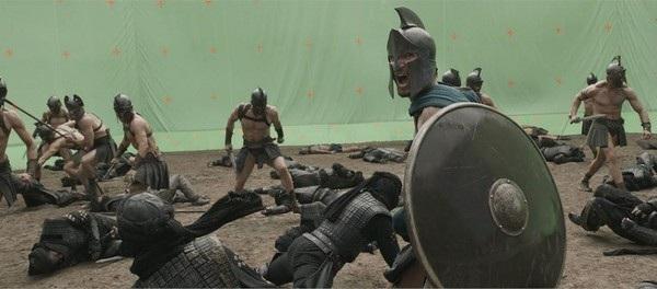 """Cảnh chiến trường hoành tráng trong bộ phim """"300: Đế chế trỗi dậy"""" thực chất được quay trong trường quay"""