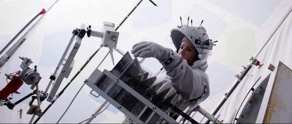 """Hình ảnh thực sự của tàu vũ trụ trong bộ phim """"Cuộc chiến không trọng lực"""""""