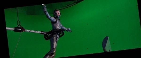 """Một cảnh quay trong bộ phim """"Cuộc đấu của Ender"""""""
