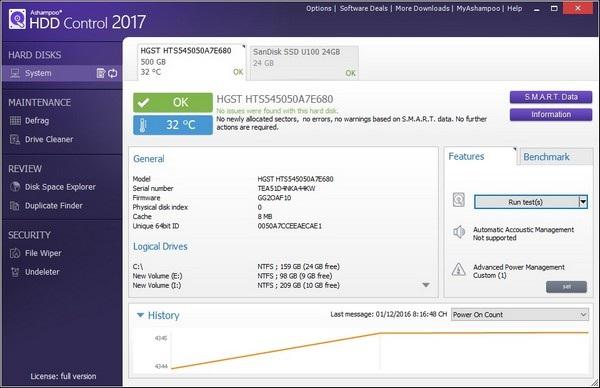 Phần mềm chuyên nghiệp giúp quản lý và tối ưu hiệu suất cho ổ cứng - 2