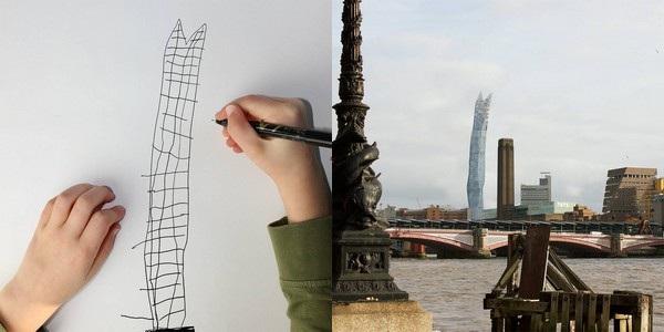 Cậu bé Dom có thể là một kiến trúc sư đại tài trong tương lai