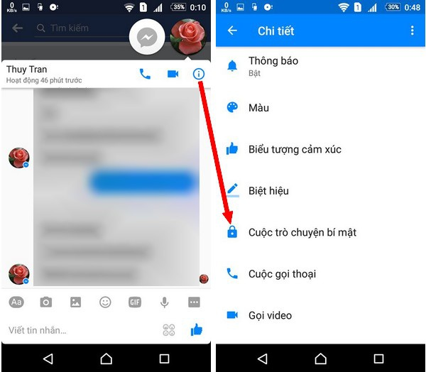 Cách chat Facebook tuyệt đối bí mật và gửi tin nhắn tự hủy - 1