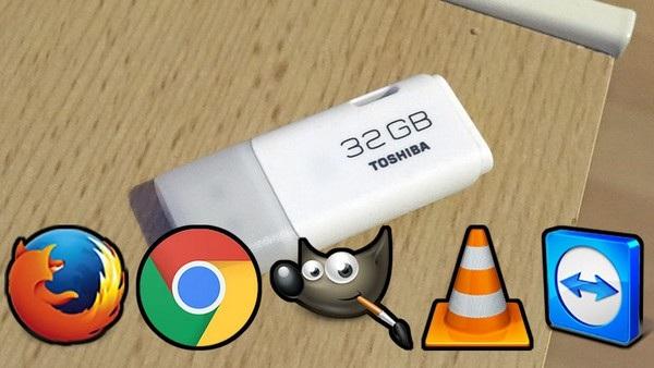Có thể nói một chiếc USB chứa các phần mềm cần thiết để sử dụng ở bất kỳ đâu cũng tương tự như bạn đang sở hữu một chiếc máy tính di động