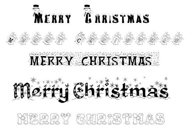 Bộ sưu tập font chữ theo phong cách Giáng sinh độc đáo - 1