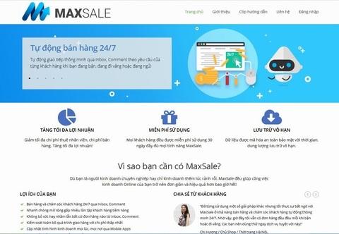 Bán hàng thông minh thời @ với MaxSale - 1