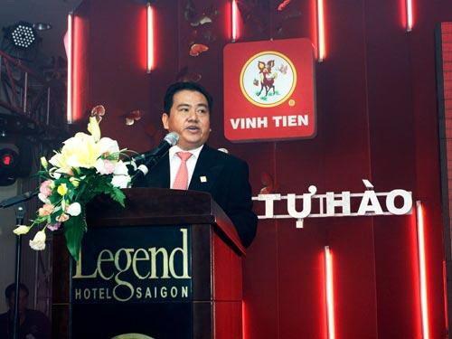 Ông Lâm An Dậu, Chủ tịch HĐQT Cty CP Giấy Vĩnh Tiến