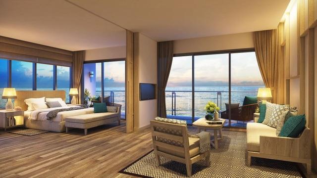 Khu resort 100% mặt tiền biển theo đúng tiêu chí sang trọng và riêng tư, độc đáo và đẳng cấp