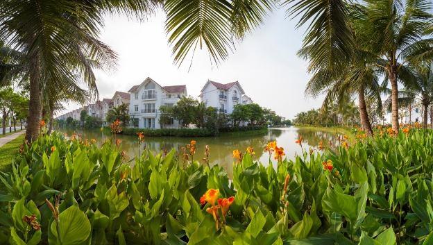 Thiết kế biệt thự sang trọng hài hòa với không gian sinh thái nguyên bản tại Vinhomes Riverside