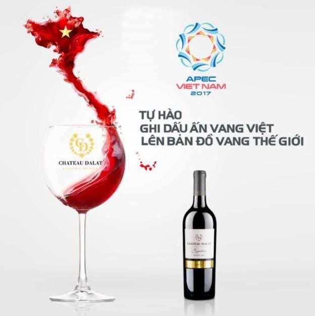 Vang Chateau Dalat tự hào khi là thương hiệu Việt ghi danh vào bản đồ Vang thế giới.