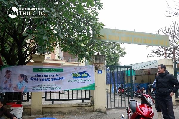 Băng rôn về chương trình được treo khắp mọi nẻo đường thành phố Hà Nội