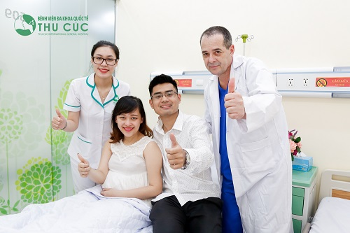 Bệnh viện ĐKQT Thu Cúc là địa chỉ khám thai và sinh con uy tín, chất lượng Quốc tế được nhiều mẹ bầu và gia đình tin tưởng, lựa chọn