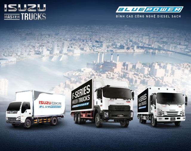 Thế hệ xe tải Isuzu Forward & QKR mới với công nghệ hàng đầu Nhật Bản đáp ứng tối ưu tiêu chí của người tiêu dùng
