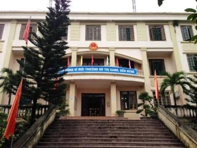 Trụ sở UBND phường Đông Sơn, thị xã Bỉm Sơn
