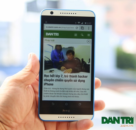 Trên tay HTC Desire 820S tại Việt Nam
