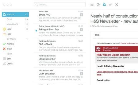 Những ứng dụng duyệt Gmail hữu dụng cho máy Mac