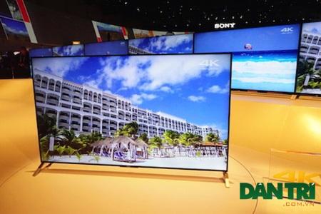 Bravia X90C là mẫu TV 4K chủ đạo của Sony trong năm 2015 với khả năng hiển thị hình ảnh sáng nét