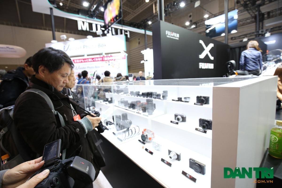 Khu trải nghiệm của Fujifilm