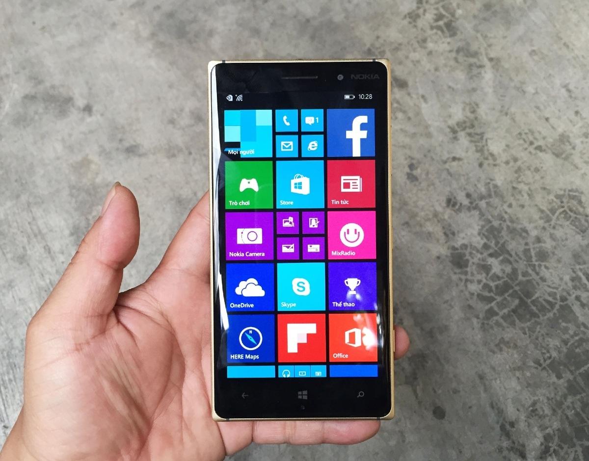 Máy khởi chạy nền tảng Windows Phone 8.1